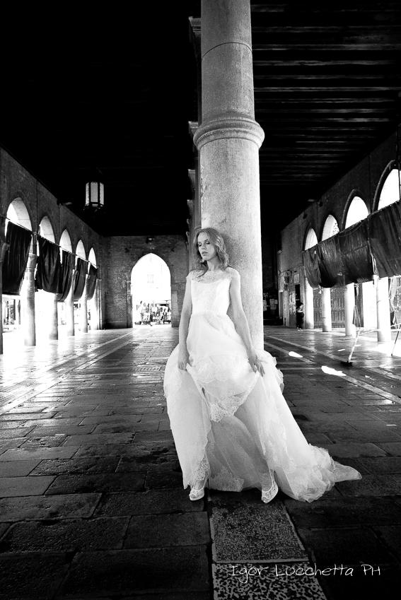 Sposa in bianco e nero