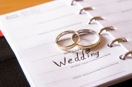 Organized your wedding ..