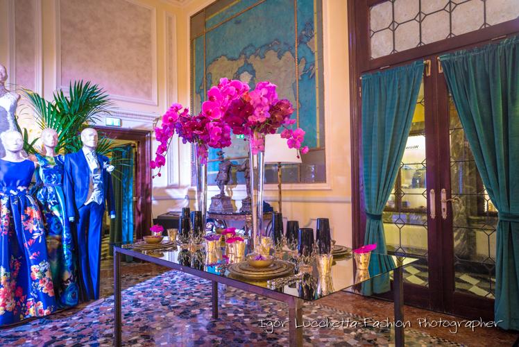 Composizioni  floreali hotel Venezia